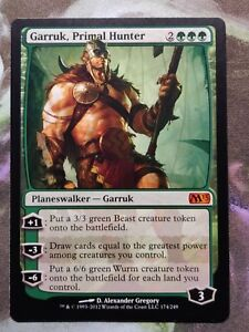 Garruk, Primal Hunter NM x1 Mtg