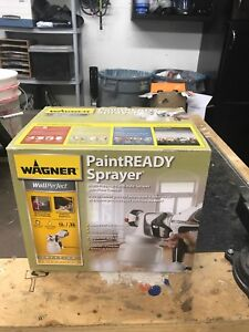 Wagner Wallperfect Airless Paint Sprayer: Used One Time