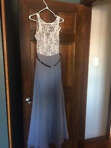 Two bridesmaid dresses for sale.