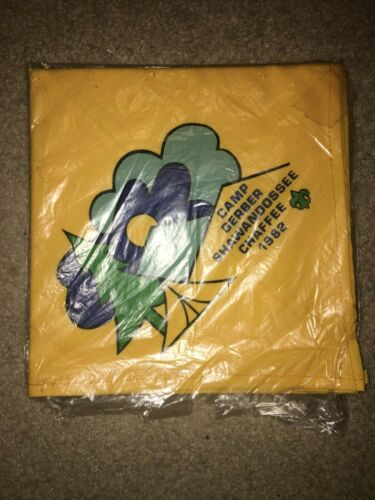 Boy Scout BSA Camp Gerber Shawandossee Chaffee WMSC Michigan Council Neckerchief