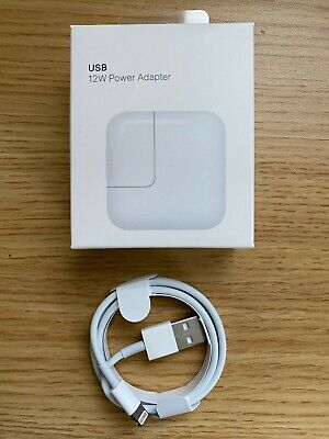 New OEM 12W Apple Charger & Lightning Cable for iPad Mini Air 1 2 Airpod iPhone