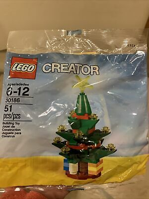 LEGO Christmas Tree Polybag #30186 Creator Christmas Holiday Stocking Favor NEW