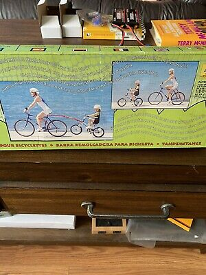 Trail Gator Childrens Black Trailer Tow Bar Bicycle Tandem cp