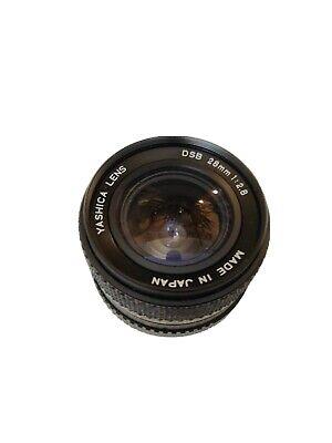 Obbiettivo grandangolare Yashica Lens DSB 28 mm 1 : 2.8 attacco a baionetta