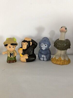 Fisher Price Little People Zoo Safari Animals Koby Loy Preowned