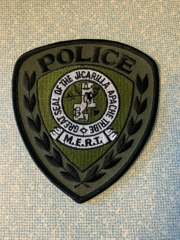JICARILLA APACHE POLICE MERT SUBDUED SWAT NEW MEXICO NM PATCH SHERIFF