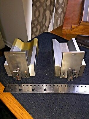 Pair Of Precision Ground V-blocks 6 12 X 4 X 2 14 Calibration Due 012018