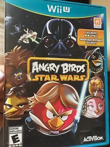 Angry birds Star Wars for wii U