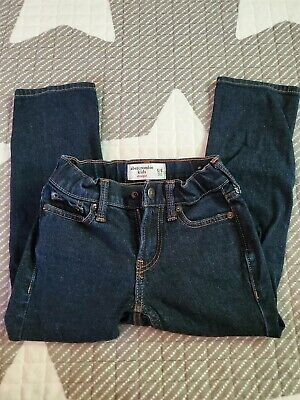 Abercrombie kids boys straight jeans 5/6