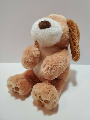 F2 GUND FUN Baby Doggie Talking Singing Stuffed Animal Plush Dog