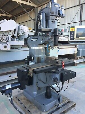 Bridgeport Mdl. V2xt 3-axis Cnc Vertical Milling Machine
