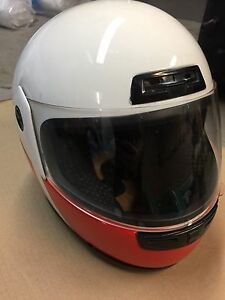 Full Face Helmet with Yamaha RZ500 Paint Scheme