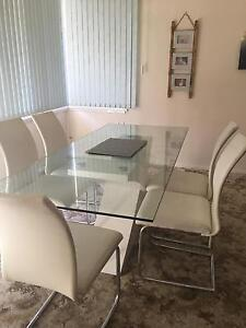 6 seater dining table & entertainment unit West Ryde Ryde Area Preview