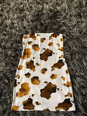 Topshop Honey Punch Bodycon Dress Size S