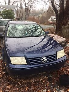 Selling two Volkswagens for parts or repair