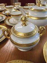 Gold decorated Hutschenreuther tea-set, Bavarian City North Canberra Preview