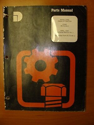 Dresser Model Td8e Crawler Tractor Parts Manual