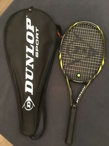 New Dunlop tennis racket