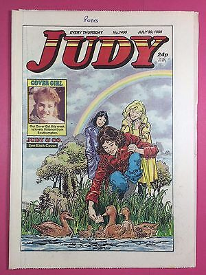 JUDY - Stories For Girls - No.1490 - July 30, 1988 - Comic Style Magazine