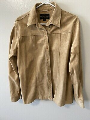 Golden Bear Leather Jacket Lightweight Size L
