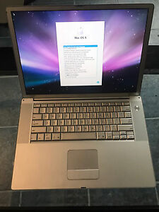 MacBook PowerBook G4 15 inch obo