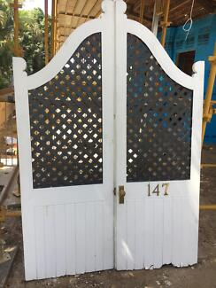 Batwing Diagonal Lattice Verandah Doors & batwing doors in Queensland   Gumtree Australia Free Local Classifieds pezcame.com