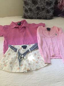 GIRLS POLO RALPH LAUREN CLOTHES SIZE 4 & 5 Southport Gold Coast City Preview
