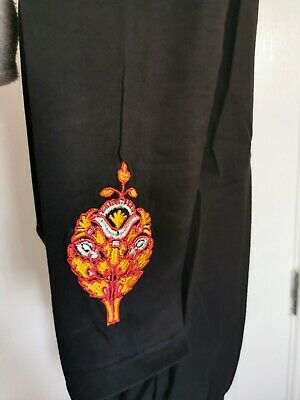 Khaadi Embroidered legigngs /pants Size 12 100% cotton