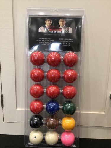 BCE Snooker Balls 1 7/8 NEW Sealed
