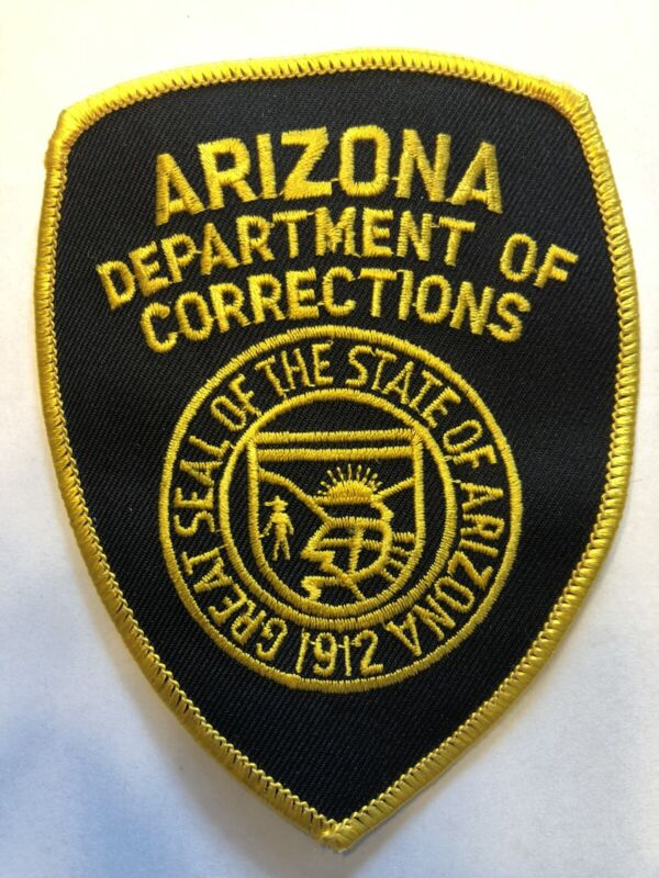 Arizona Department Of Corrections Patch