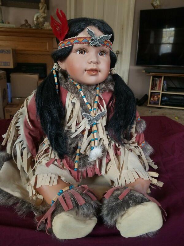 Native American Porcelain Baby Dolls