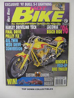 Hot Bike Magazine November 1996 Pacific Beach Ride '96