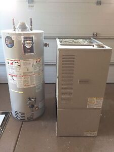 Frigidaire furnace and hot water  tank