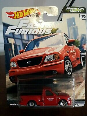 Hot Wheels Premium Series Fast and Furious SVT Ford F150 Lightning(2020)