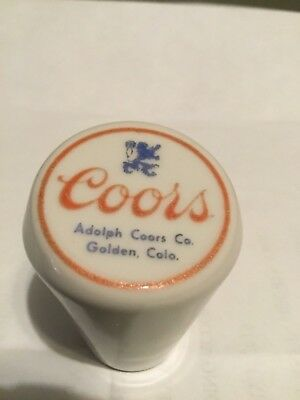 Vintage Coors Beer Ball Knob, Tap, Handle, 1930's - 40's - Rare - HTF