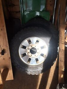 2008 F350 tires and rims