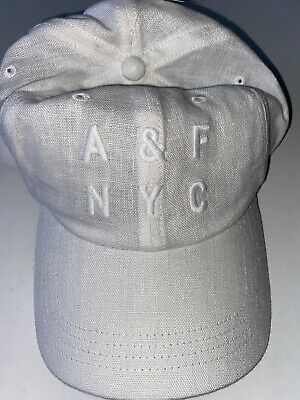 NEW ABERCROMBIE AND FITCH Men's Linen Cap