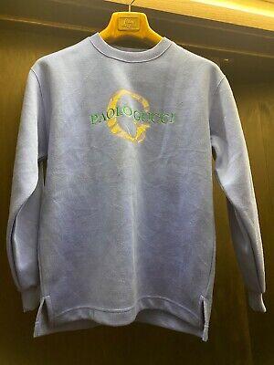 Gucci sweatshirt mens, size M-S. Rare authentic Paolo Gucci sweatshirt