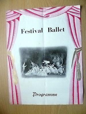 Festival Ballet Programme