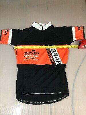 New Black ZOIC Headland Sportwool Short Sleeve Jersey...Men/'s Small