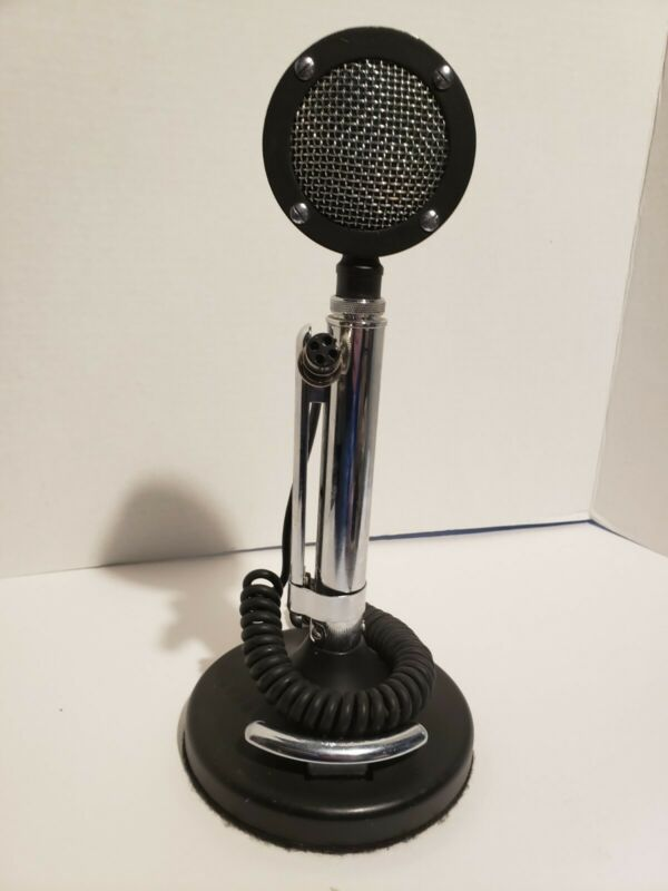 Astatic d104 microphone Special Black Chrome punisher