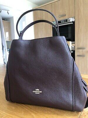 Coach Edie 31 Oxblood - New - Stunning Bag.