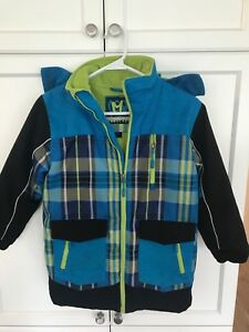 Boys 7 Winter Coat with Hood