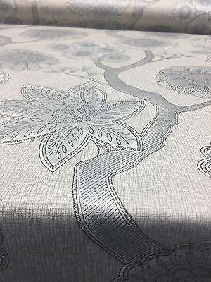 P Kaufmann Gloss Chintz Platinum Multipurpose Fabric by the yard  ()