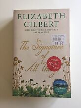 The Signature of All Things by Elizabeth Gilbert Kew East Boroondara Area Preview