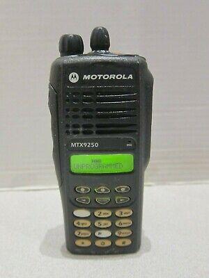 Motorola Mtx9250 900mhz Aah25wch4gb6an Police Fire Ems Two Way Radio