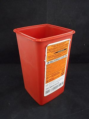 Medline 1-quart Phlebotomy Sharpsbiohazard Disposal Container Wo Lid