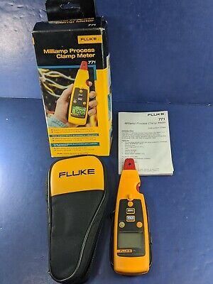 Fluke 771 Milliamp Process Clamp Meter Original Box