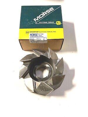 Morse 5 Shell End Mill For Aluminum 8 Teeth Hss Usa Made 42925