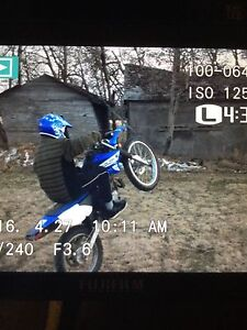 yamahaTTRdirtbike selling my kids dirtbike for a sled for him